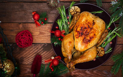 Save energy while cooking Christmas Dinner